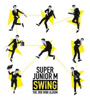 "Album art for Super Junior M's album ""Swing"""