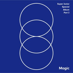 "Album art for Super Junior's album ""Magic"""