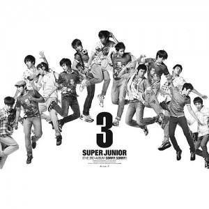 "Album art for Super Junior's album ""Sorry Sorry: Repackage"""