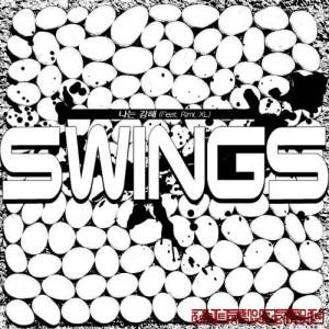 """Album art for Swing's album """"I Am Strong"""""""