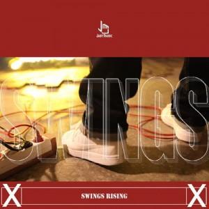 """Album art for Swings's album """"Swings Rising"""""""