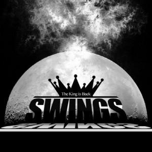 """Album art for Swings's album """"The King Is Back"""""""