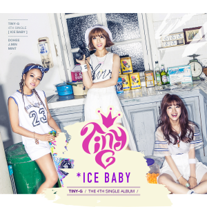 "Album art for Tiny-G's album ""Ice Baby"""