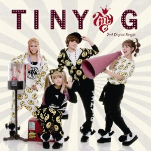 "Album art for Tiny-G's album ""Minimanimo"""