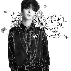 "Album art for Yesung's album ""Spring Falling"""