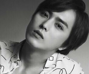 "ZE:A's Heechul ""First Homme"" promotional picture."