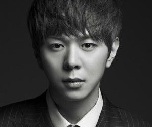 "ZE:A's Junyoung ""First Homme"" promotional picture."