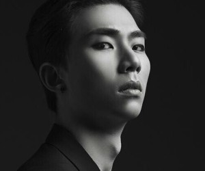"ZE:A's Kevin ""First Homme"" promotional picture."