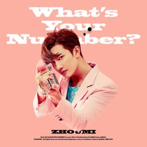 "Album art for Zhou Mi's album ""What's Your Number"""