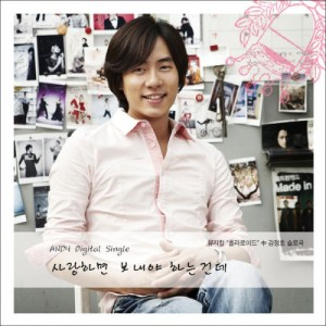 "Album art for Andy (Shinhwa)'s album ""If You Love Her Let Her Go"""