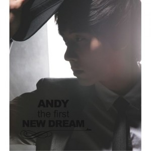 "Album art for Andy (Shinhwa)'s album ""The First New Dream"""