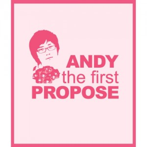 "Album art for Andy (Shinhwa)'s album ""The First Propose"""