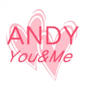"Album art for Andy (Shinhwa)'s album ""You & Me"""