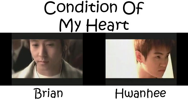 """The members of Fly To The Sky in the """"Condition Of My Heart"""" MV"""