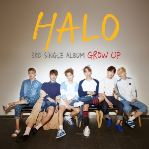 "Album art for Halo's album ""Grow Up"""