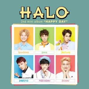 "Album art for HALO's album ""Happy Day"""