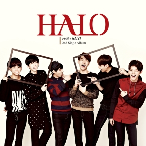 "Album art for Halo's album ""Hallo Halo"""