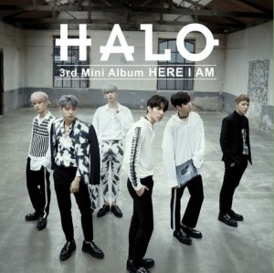 "Album art for HALO's album ""Here I Am:"