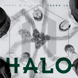 "Album art for HALO's abum ""Young Love"""