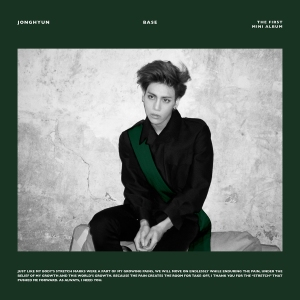 "Album art for Jonghyun's album ""Base"""