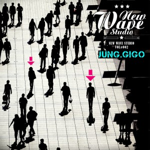 "Album art for JungGiGo's album ""New Wave Studio"""