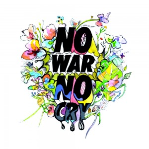 "Album art for JungGiGo's album ""No War No Cry"""