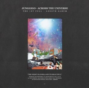 "Album art for JungGiGo's album ""Across The Universe"""