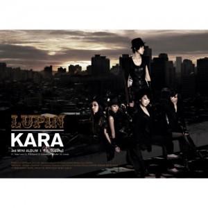 "Album art for Kara's album ""Lupin"""