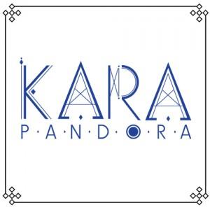 """Album art for Kara's album """"Pandora"""""""