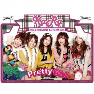 "Album art for Kara's album ""Pretty Girl"""