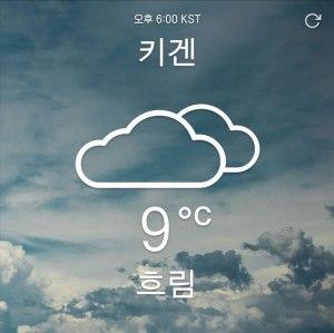 "Album art for Kiggen's album ""Cloudy"""