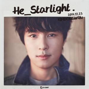 "Album art for Kim Dong Wan's album ""He_Starlight"""