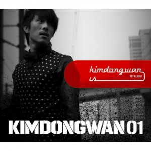 "Album art for Kim Dong Wan (Shinhwa)'s album ""Kim Dong Wan Is"""