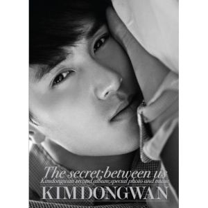 "Album art for Kim Dong Wan (Shinhwa)'s album ""The Secret"""