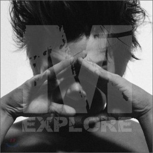 "Album art for M/Lee Minwoo (Shinhwa)'s album ""Explore M"""