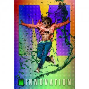 "Album art for M/Lee Minwoo (Shinhwa)'s album ""Minnovation"""
