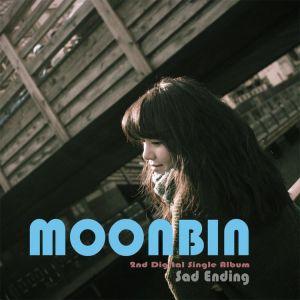 """Album artfor Moonbin's album """"Sad Ending"""""""