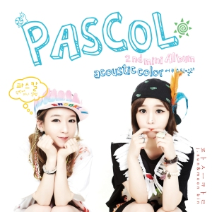"Album art for Pascol's album ""Acoustic Color"""