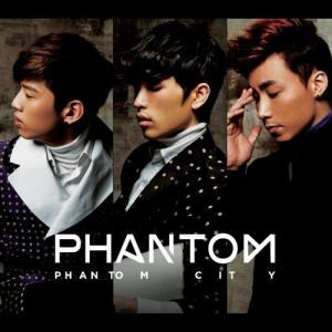 """Album art for Phantom's album """"Phantom City"""""""