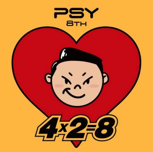 "Album art for Psy's album ""8th Album 4x2=8"""