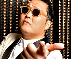 "Psy's ""Hangover"" promotional picture."