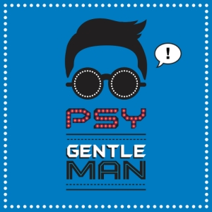 "Album art for PSY's album ""Gentleman"""