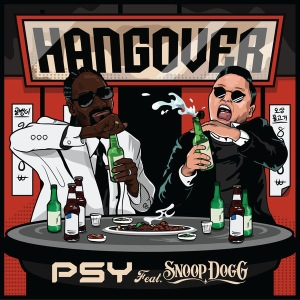 "Album art for PSY's album ""Hangover"""