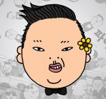 Psy's logo.