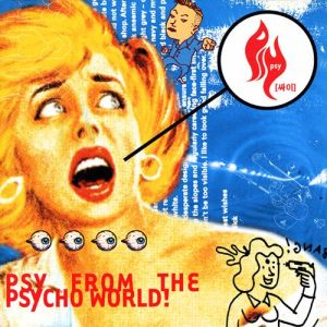 "Album art for PSY's album ""Psy From The Psycho World"""