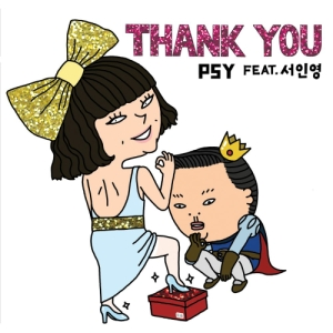 "Album art for PSY's album ""Thank You"""