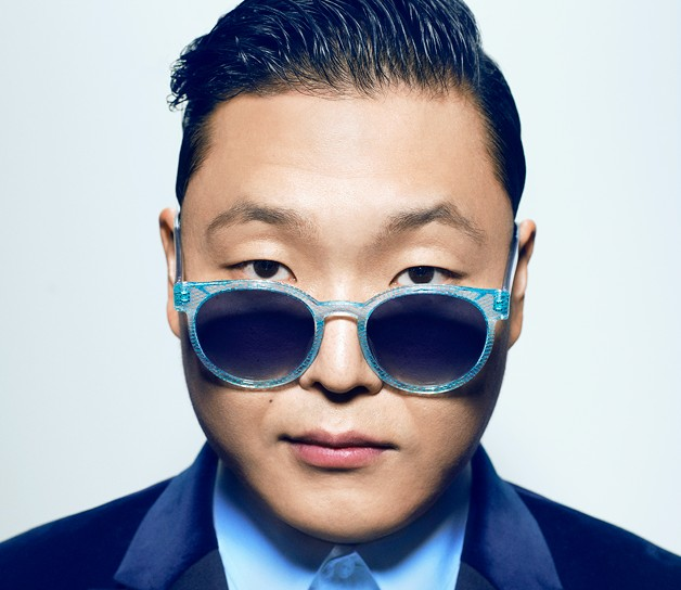 Psy's promotional picture.