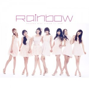 "Album art for RAINBOW's album ""So Girls"""