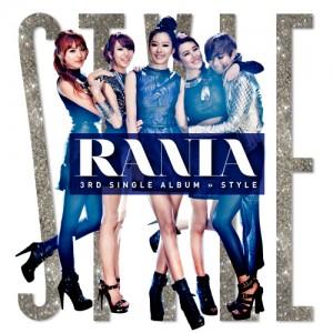 """Album art for RaNiA's album """"Style"""""""