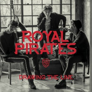 "Album art for Royal Pirates's album ""Drawing The Line"""